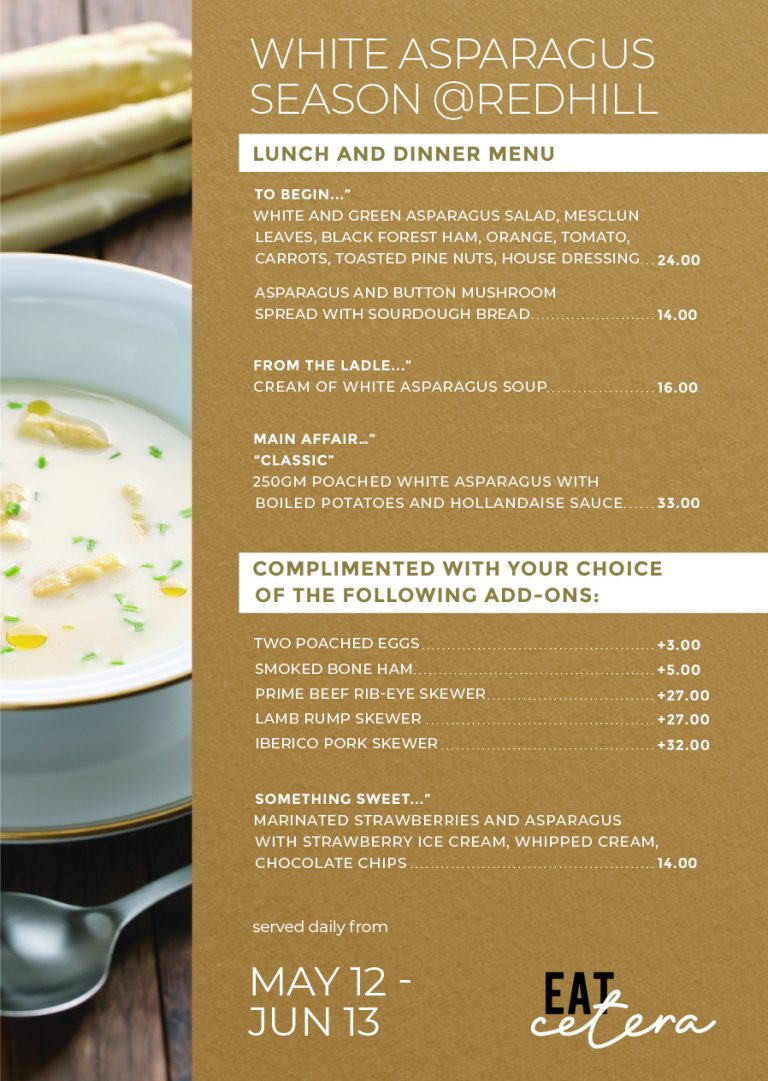 White Asparagus Season at EATcetera_A5_Menu